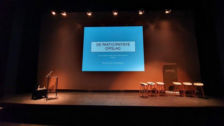 De participatieve omslag: onze democratie in transitie