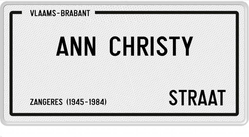 Ann Christy Straat