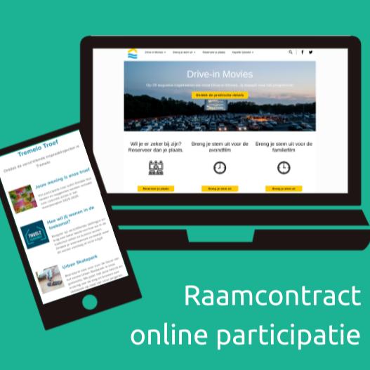 Raamovereenkomst online participatie voor Vlaams-Brabant