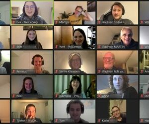Vijf keer in online dialoog met burgers en stakeholders